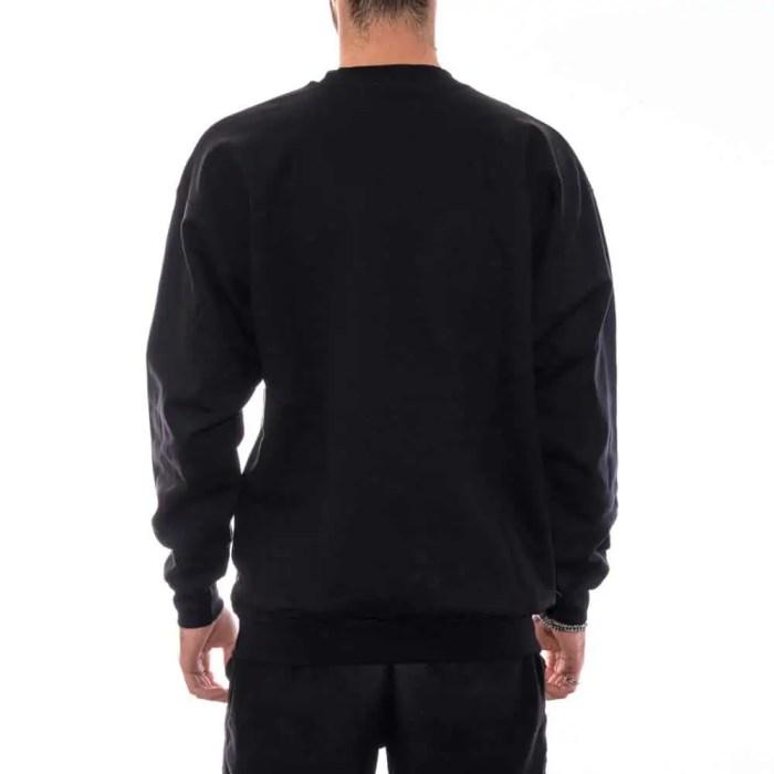 THRASHER SKATE MAG CREWNECK BLACK 2