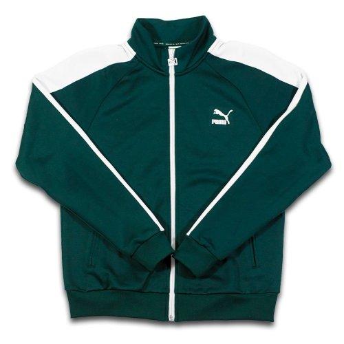puma jacket forest green 1