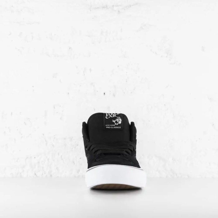 VANS HALF CAB PRO BLACK WHITE 8