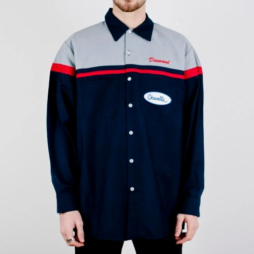DIAMOND X CHEVELLE SUPER SPORT WOVEN NAVY