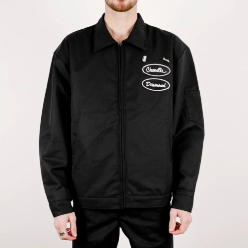 DIAMOND X CHEVELLE SS JACKET BLACK