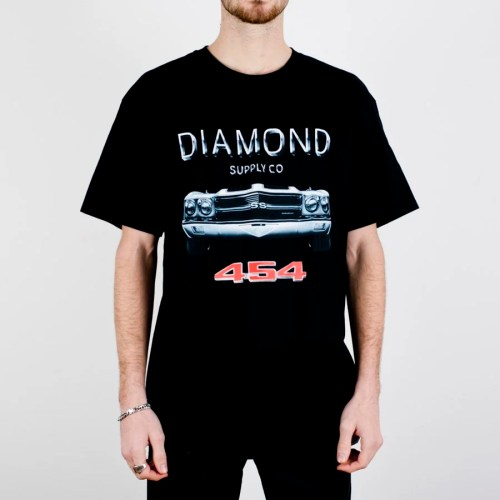 DIAMOND X CHEVELLE 454 TEE BLACK