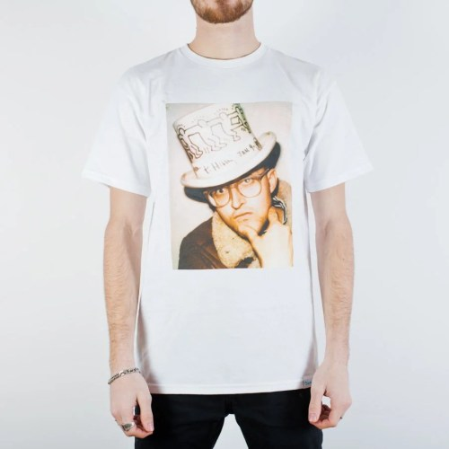 DIAMOND x KEITH HARING IN A HAT TEE (WHITE)