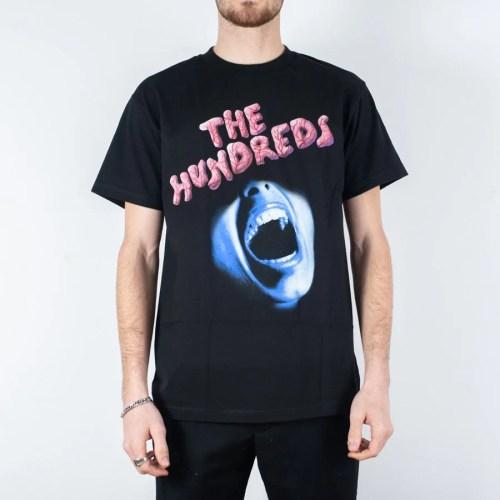 THE HUNDREDS PULSE TEE BLACK