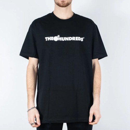 THE HUNDREDS BAR LOGO TEE BLACK