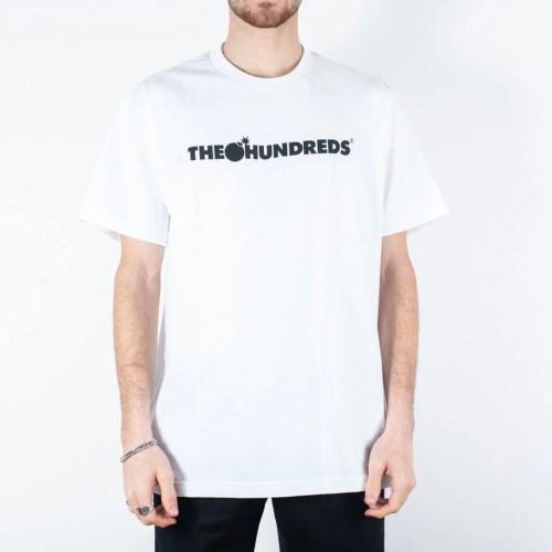 THE HUNDREDS BAR LOGO TEE WHITE