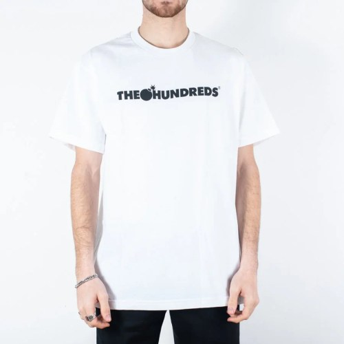 THE HUNDREDS BAR LOGO TEE WHITE