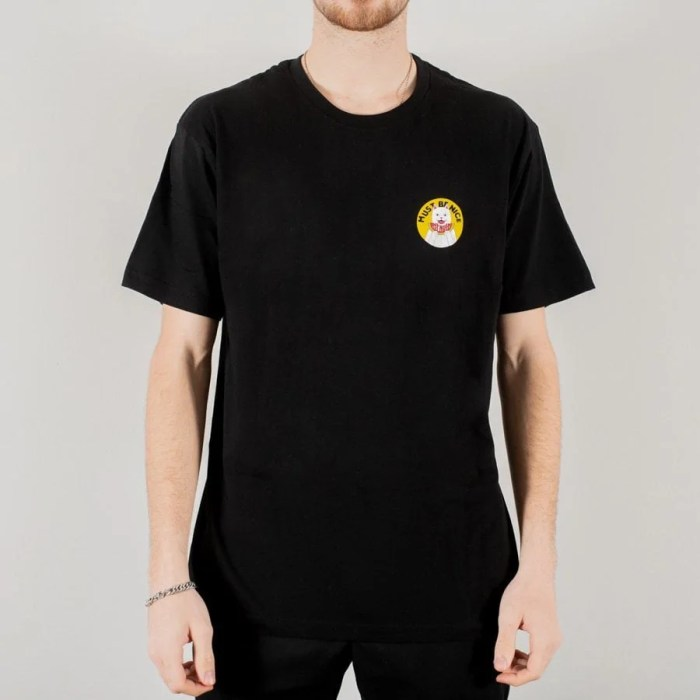RIPNDIP DELICIOUS TEE BLACK