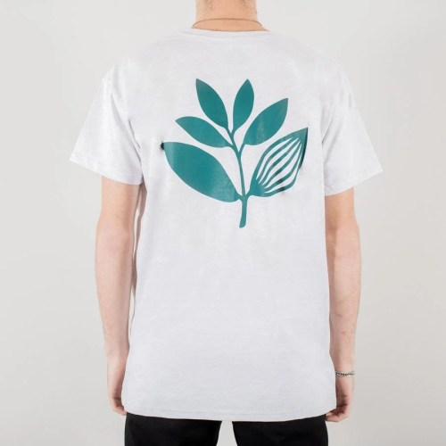 MAGENTA CLASSIC PLANT TEE ASH 2