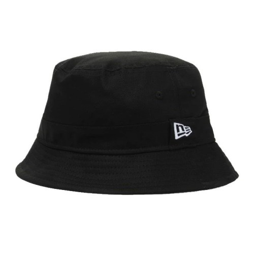 NEW ERA ESSENTIAL BUCKET HAT BLACK