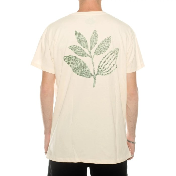 MAGENTA POINTS PLANT TEE NATURAL (2)