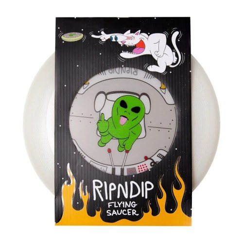 RIPNDIP PHONE THIS GLOW IN THE DARK FLYING DISK GREEN 2