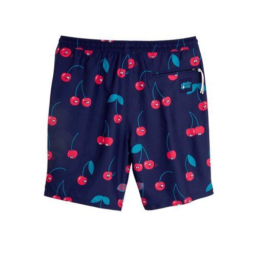 LOUSY LIVIN CHERRIES BEACH SHORTS BLUE (2)