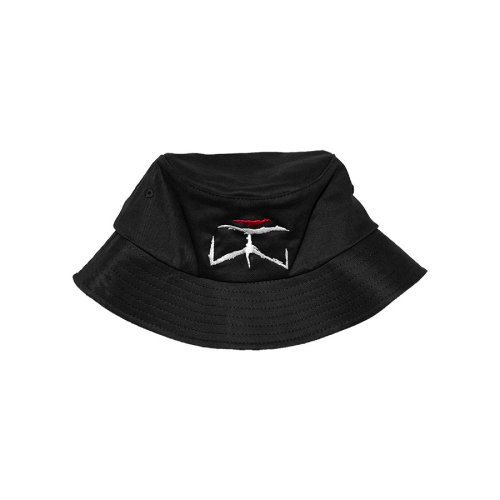 MOC x TWINSANITY BUCKET HAT BLACK