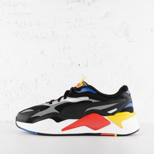 PUMA RS X3 MILLENIUM BLACK HI RISK RED LAPIS BLUE 7