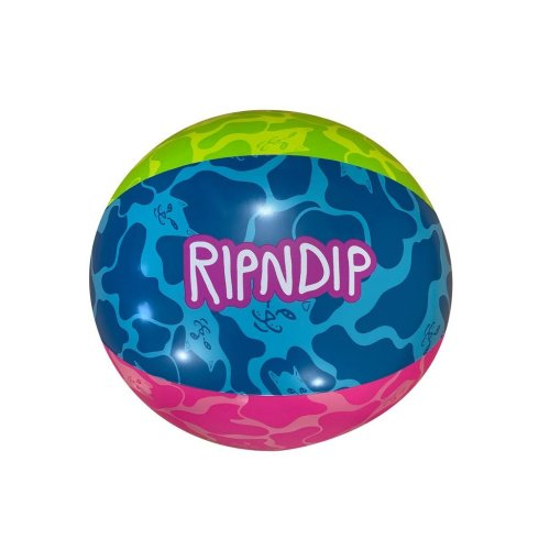 RIPNDIP SURFS UP BEACH BALL MULTI