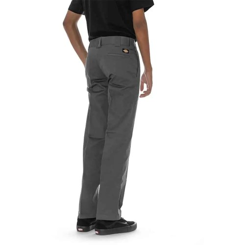DICKIES SLIM STRAIGHT WORK PANT CHARCOAL GREY