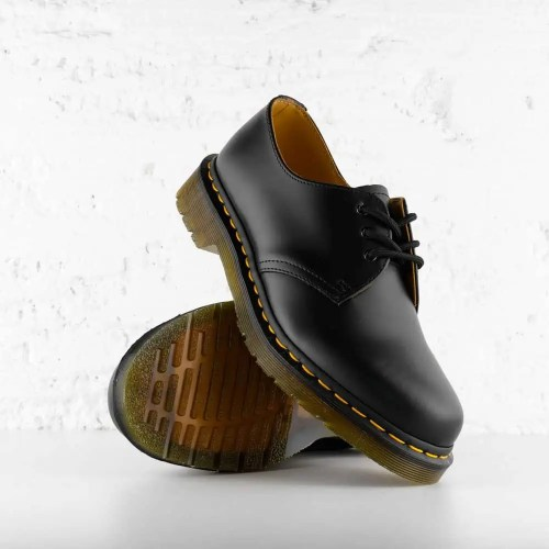 DR. AIR WAIR MARTENS 1461 SMOOTH LEATHER BLACK 5