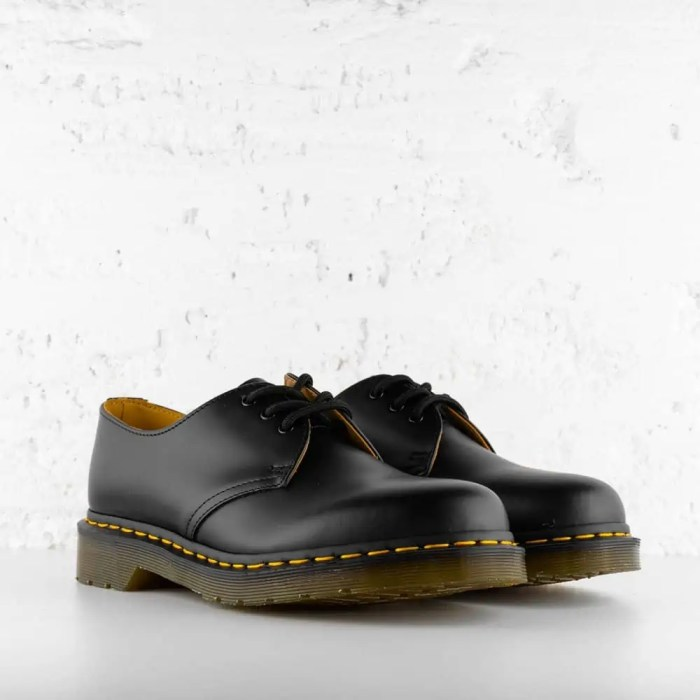 DR. AIR WAIR MARTENS 1461 SMOOTH LEATHER BLACK 6