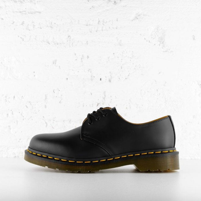 DR. AIR WAIR MARTENS 1461 SMOOTH LEATHER BLACK
