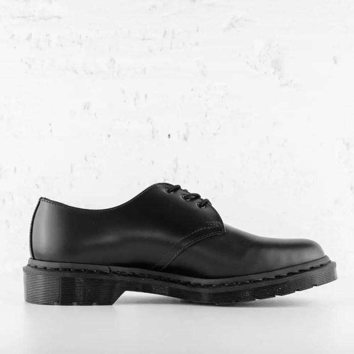 DR. MARTENS 1461 MONO SMOOTH LEATHER BLACK 3