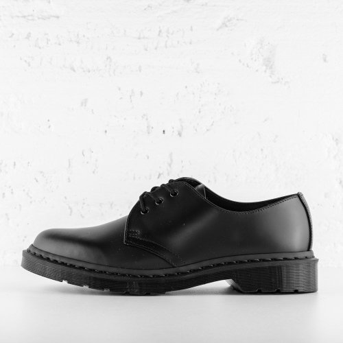 DR. MARTENS 1461 MONO SMOOTH LEATHER BLACK
