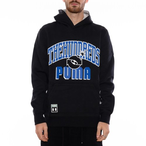 PUMA X THE HUNDREDS REVERSIBLE HOODIE PUMA BLACK