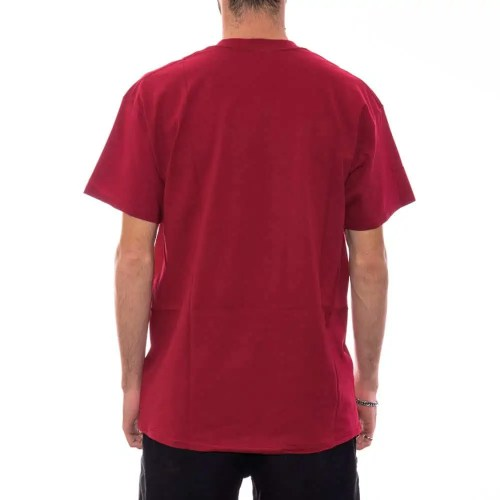 THRASHER OUTLINED TEE CARDINAL 2