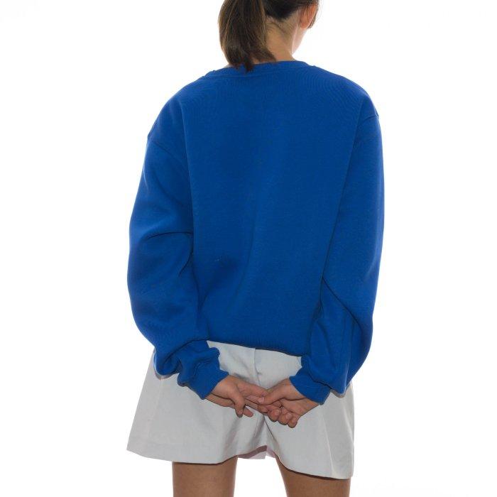 ODE TO SOCKS BLUE DAISIES SWEATSHIRT BLUE ROYAL 2