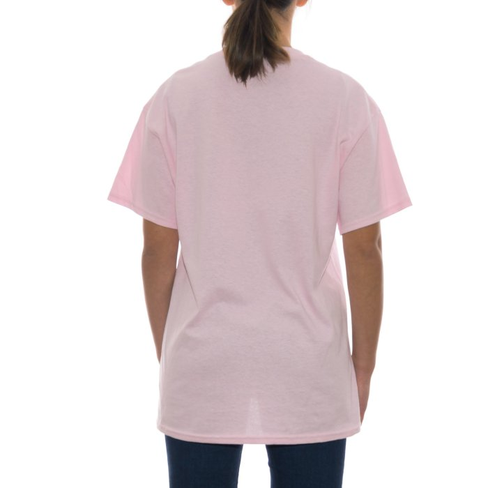 ODE TO SOCKS MIRROR PASTEL TEE COTTON CANDY PINK 2