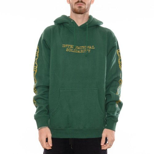 PASS~PORT INTERSOLID HOODIE FOREST GREEN