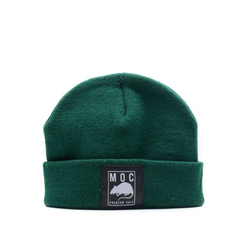 MOC LABEL 1 BEANIE SHORT FOREST GREEN