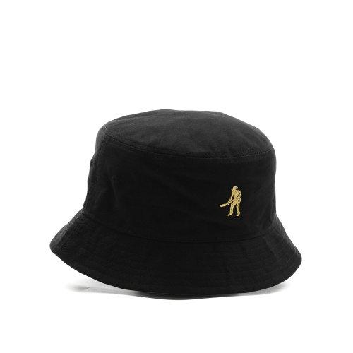 PASS~PORT INTER SOLID REVERSABLE BUCKET HAT BLACK