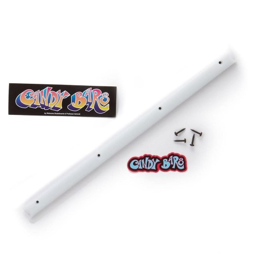 WELCOME SKATEBOARDS CANDY BARS RAILS WHITE