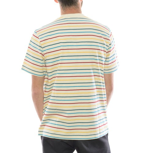 PARRA STARING STRIPED TEE MULTI 2