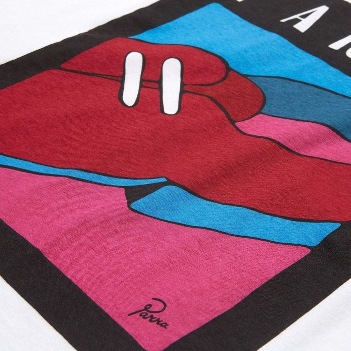 PARRA SHOE REPAIR TEE WHITE