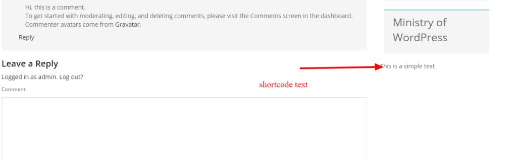 create custom shortcode in wordpress