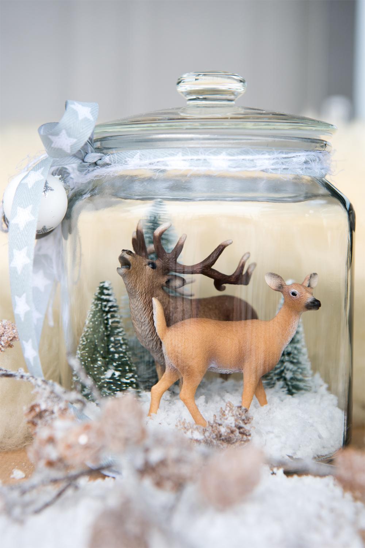 Wir Basteln Eine Winterlandschaft Mini Stil