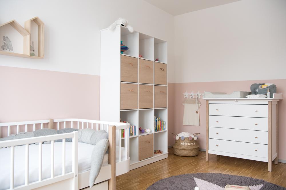 Kinderzimmer einrichten: Ein Geschwisterzimmer für Baby und Kleinkind #kinderzimmer #babyzimmer #geschwisterzimmer #kidsroom #nursery