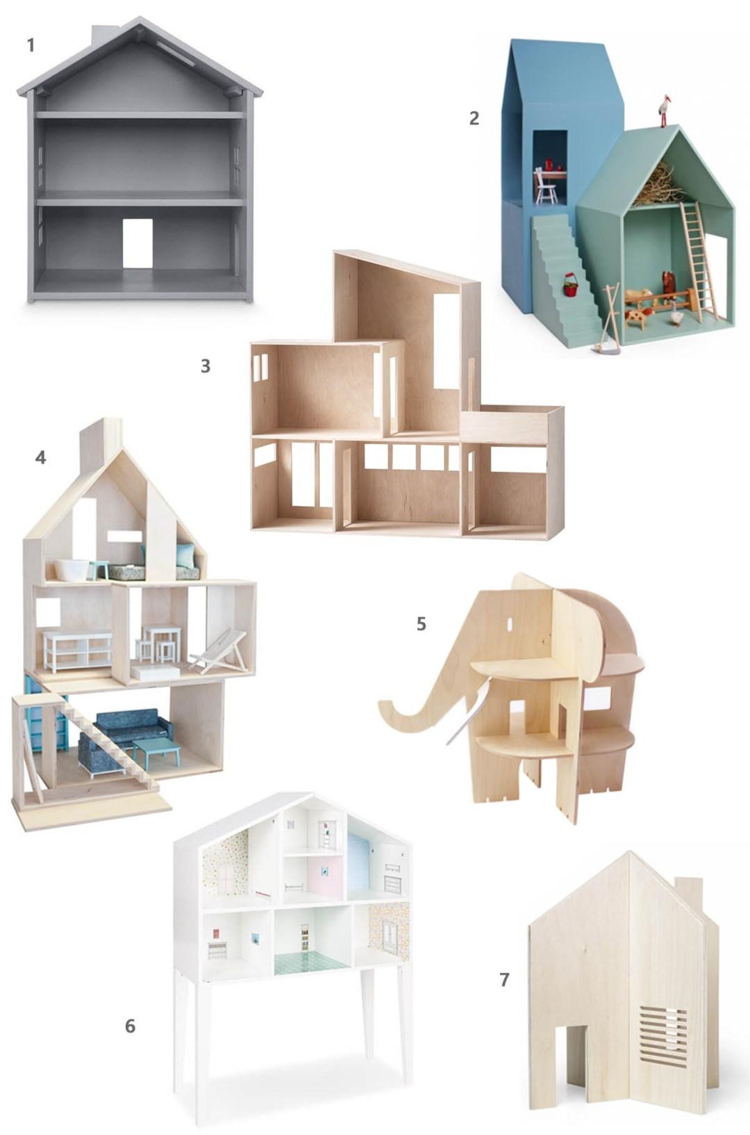 Puppenhaus, Puppenhaus Holz, Puppenhaus Zubehör, Maileg, Mini & Stil
