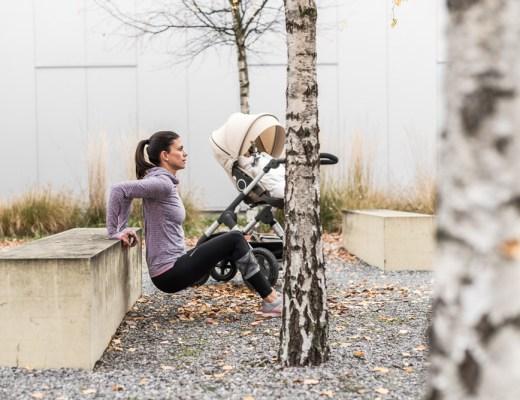 Sport mit Baby: 7 einfache Übungen für dein Workout mit Kinderwagen