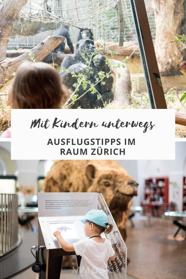 Mit Kindern unterwegs: Ausflugstipps für Familien im Raum Zürich