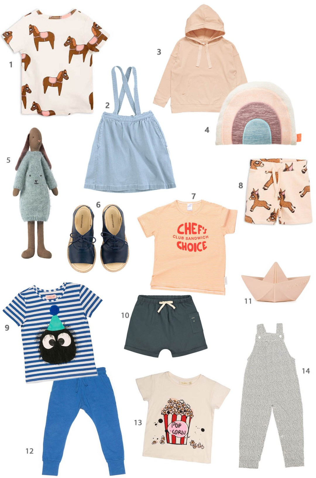 The spring collection 2018 for children from Stadtlandkind: Our favorites #kindermode #kidsfashion