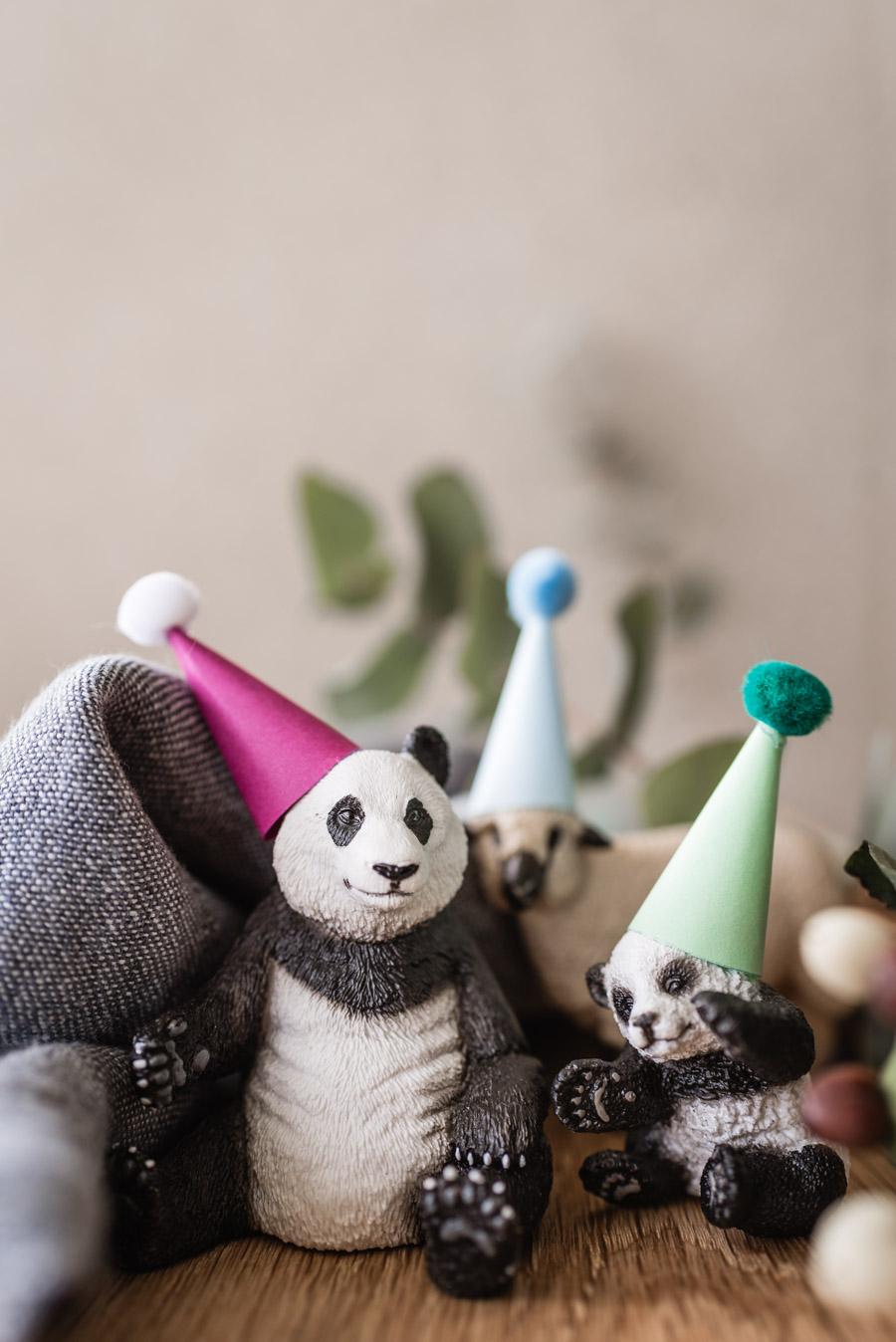 Play and craft ideas with sneaking for children #kinderspiel #bastelnmitkinder #diy #schleichtiere