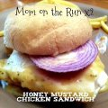 honey mustard chicken sandwich