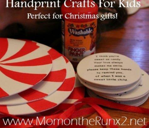 Handprint Crafts for Kids to Make