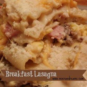 Breakfast Lasagna via Mini Van Dreams #easyrecipes #recipes