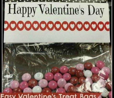 easy valentines day treat bags by mini van dreams