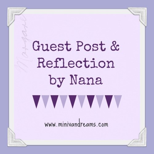 Get Off Your Knees and Pray - A Book Reflection and Guest Post by Nana via Mini Van Dreams