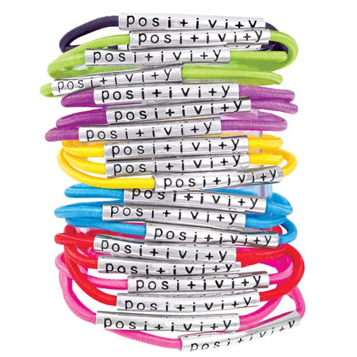 Posi+ivi+y Bracelets Review and Giveaway via Mini Van Dreams